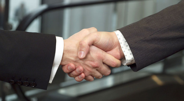 Clients handshake